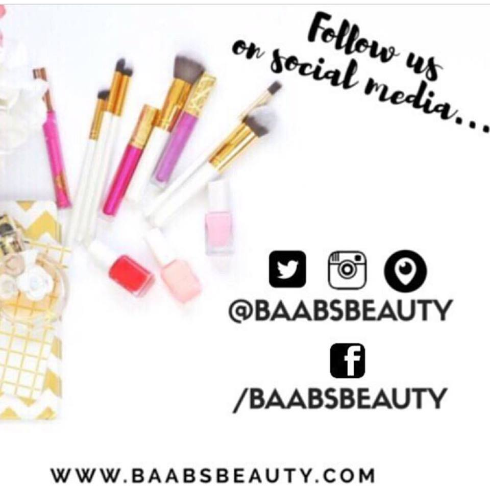 baabs beauty social media ad