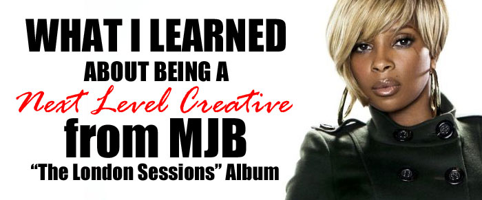 """Next Level Creativity from MJB's """"The London Sessions"""" Album"""