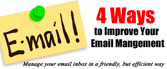 4 Ways to Improve Email Efficiency