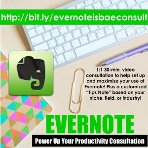 Evernote Consultation